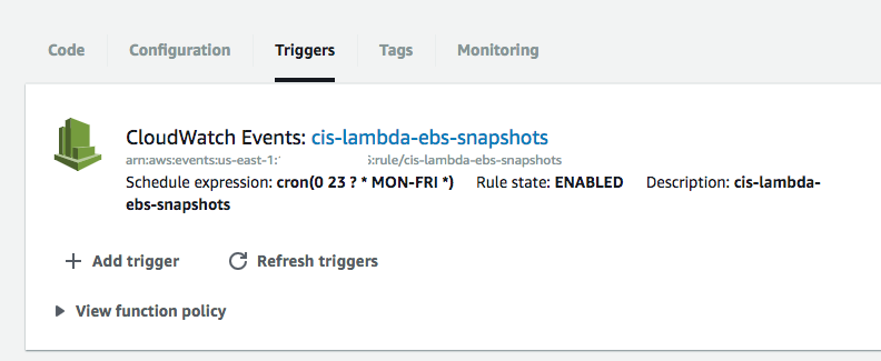 How To: Create An AWS Lambda Function To Backup/Snapshot Your EBS